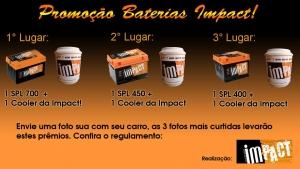 Promoção Baterias Impact 10Mil Curtidas